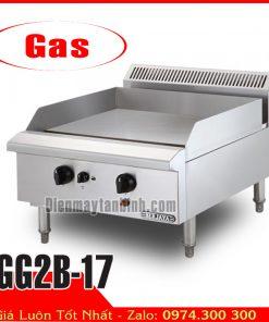 Bếp chiên rán phẳng dùng gas berjaya GG2B-17