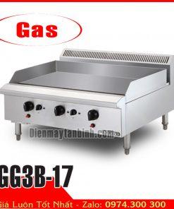 Bếp chiên bề mặt dùng gas berjaya GG3B-17