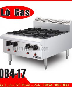 bếp gas âu 4 họng nấu berjaya OB4-17