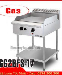 Bếp chiên rán phẳng dùng gas beryaja GG2BFS-17