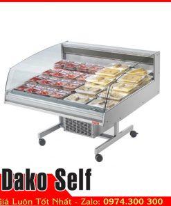 Tủ mát trưng bày thức ăn Dako Self tự chọn