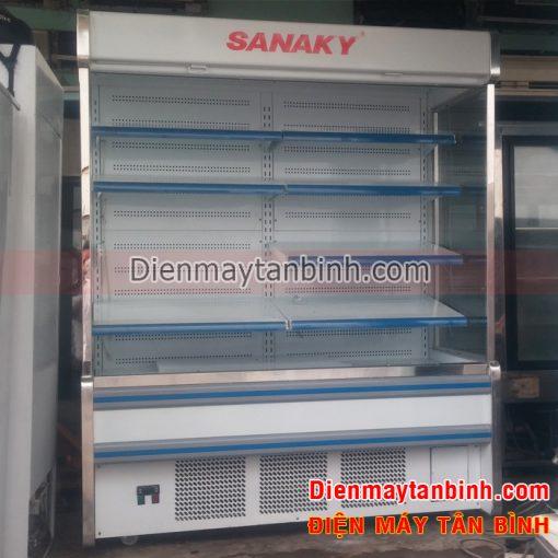 Tủ mát trưng bày siêu thị Sanaky