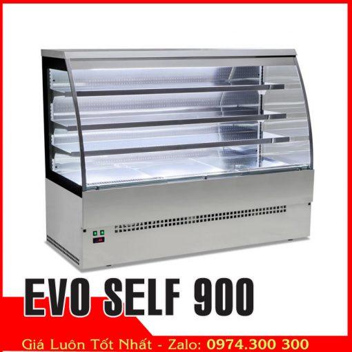tủ mát trưng bày thức ăn tự chọnevo self 900