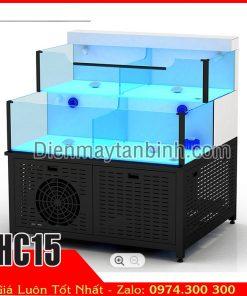 lắp đặt hồ các nước lạnh mini quán nhậu trang trí