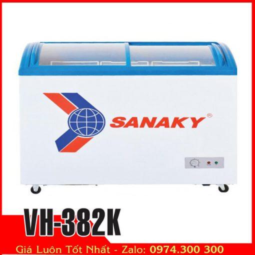 Tủ đông kính cong Sanaky VH-382K