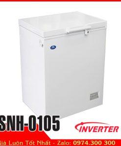 tủ đông 100 lít gia đình sanden snh-0105 trử sữa em bé