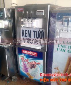 Máy làm kem cũ Gongly 3 vòi