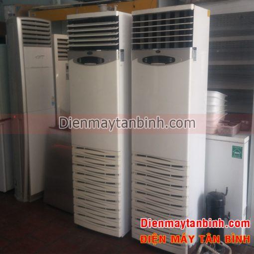 Máy lạnh cũ tủ đứng công nghiệp 5hp