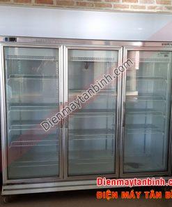 Tủ mát 3 cánh cửa kính 1500 lít Berjaya