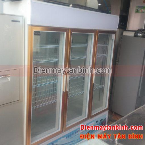 Tủ mát 3 cửa Zukun 1500 lít (mới 99%)