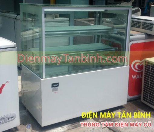 Tủ lạnh trưng bày bánh kem 4 mặt kính