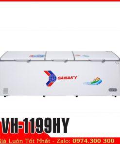 tủ đông sanaky vh-1199hy 3 cửa đông lạnh