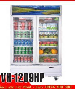 Sanaky Vh-1209HP | Tủ mát 2 cửa 1200 lít trưng bày nước ngọt