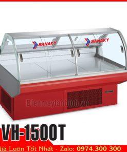 Tủ mát trưng bày thịt heo Sanaky Vh-1500T