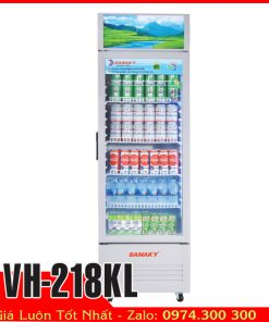 Tủ mát sanaky vh-218KL trưng bày nước ngọt