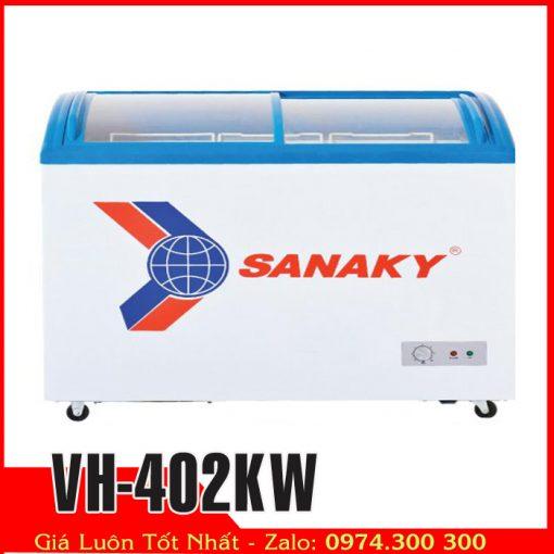 Tủ đông mát kính cong sanaky vh-402kw
