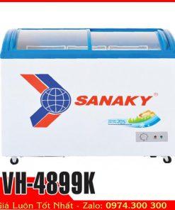 Tủ đông kính cong sanaky vh-4899k