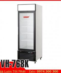 tủ đông dạng đứng cửa kính sanaky vh-768k