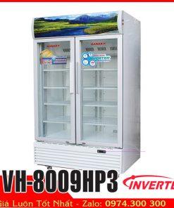 tủ mát sanaky vh-8009hp3 800 lít inverter tiết kiệm điện