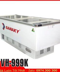 Tủ đông kính lùa Sanaky VH-999k