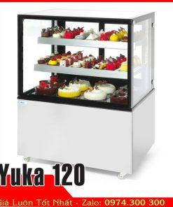 Tủ mát bánh kem 3 tầng 1m2 yuka120