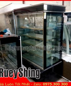 Bán tủ bánh kem 5 tầng 1m2 đài loan Rueyshing cũ giá rẻ