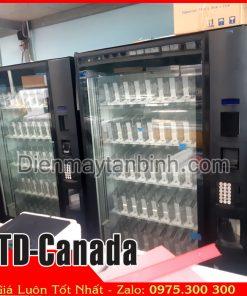 bán thanh lý máy bán nước ngọt tự động cũ giá rẻ