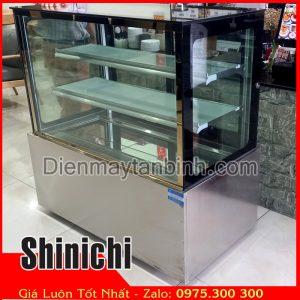 tủ mát bánh kem 3 tầng 1m2 shinichi cũ