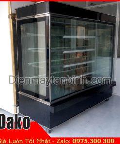 Bán tủ bánh kem 5 tầng 1m8 cũ giá rẻ